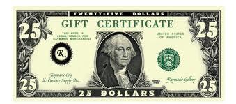 $25 Slave Tribute