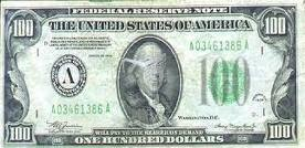 $100 slave tribute